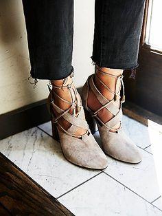 free people nouvella wrap heel