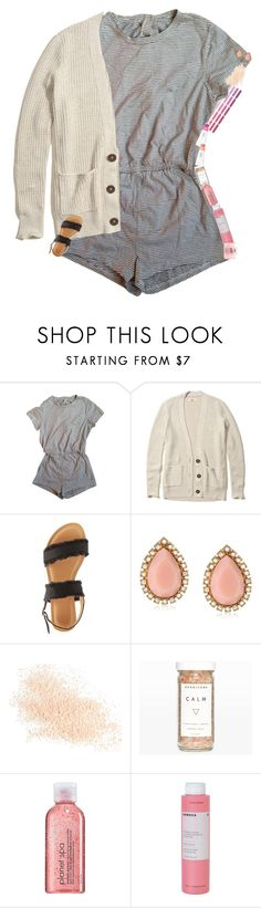 """""""The Day!"""" by mac-moses ❤ liked on Polyvore featuring American Apparel, Hollister Co., Wild Diva, Kate Spade, Eve Lom, Club Monaco, Avon, Korres and philosophy"""
