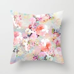 Buy Love of a Flower Throw Pillow by Girly Trend. Worldwide shipping available at Society6.com. Just one of millions of high quality products available.
