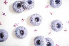 Lavender Poppyseed Donuts via LaurenConrad.com