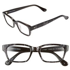 Corinne McCormack 'Sydney' 51mm Reading Glasses (90 CAD) ❤ liked on Polyvore featuring accessories, eyewear, eyeglasses, corinne mccormack, reading glasses, acetate glasses, lens glasses and reading eye glasses