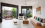 Living room modern home design effect picture of balcony 2016 Simple Furniture, Home Furniture, Furniture Design, Sofa Design, Living Room Modern, Living Room Decor, Interior Exterior, Interior Design, Muebles Living