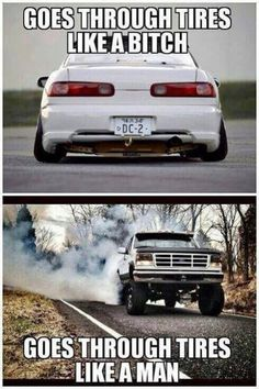 Muscle Car Memes: Goes through tires like... - https://www.musclecarfan.com/muscle-car-memes-goes-through-tires-like/