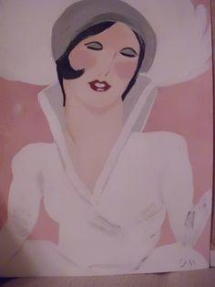 Showgirl acrylic