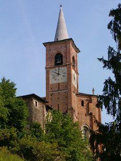 La collegiata, Castiglione Olona, Varese.