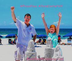Proud Faces after a SandCastle Lesson in Destin, Florida
