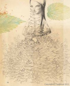 The Wild Swans by Hans Christian Andersen, illustrations by Joanna Concejo