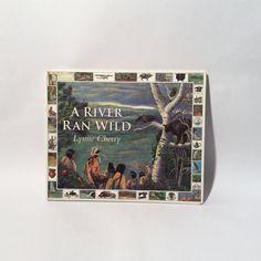 Vintage 1990s A River Ran Wild Children's book by Lynne Cherry by LOVELADYBIRDVINTAGE on Etsy