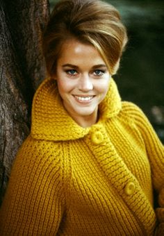 Jane Fonda . yay so thrilling to see her on tv. love love love the newsroom
