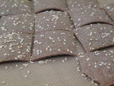 Buckwheat crackers