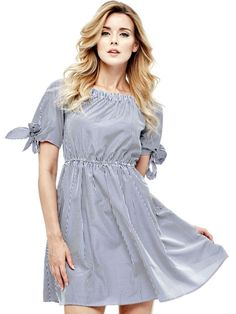 EUR79.90$  Buy now - http://viqrk.justgood.pw/vig/item.php?t=yrzdhc34713 - COTTON DRESS WITH BOAT NECK EUR79.90$