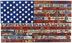 American Flag Plaque 2008 Edition – Original plaque, large and hand crafted with American motifs to honor the United States School Auction, Art Auction, Art School, High School, Auction Projects, Auction Ideas, Art Projects, American Flag Art, Image Name