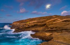 Shores of Oahu - Lanai Lookout, located on Oahu's southeastern coast.  Thanks for looking!