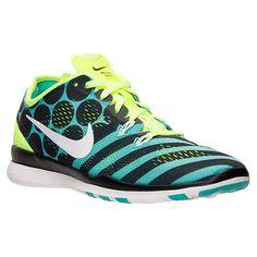 Women\u0026#39;s Nike Free 5.0 TR Fit 5 Print Training Shoes - 704695 401 | Finish Line
