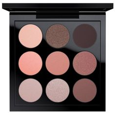 Mac Dusky Rose Times Nine Eye Shadow X 9 (£22) ❤ liked on Polyvore featuring beauty products, makeup, eye makeup, eyeshadow, dusky rose times nine, mac cosmetics, palette eyeshadow and mac cosmetics eyeshadow