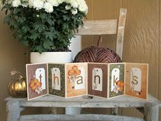 Precocious Paper: Scor-Pal and DCWV dcwv diari, thanksgiving decorations, diaries, papers, precoci paper, blog, cards, accordionfold, banner