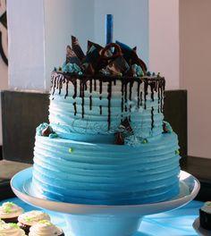 Pastel de cumpleaños chocolart //  Chocolart birthday cake
