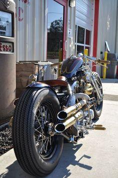 Harley Shovelhead bobber