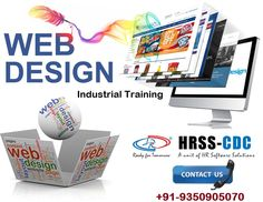 #Job oriented Web Designing 6 Months Industrial Training in Delhi by IT company!