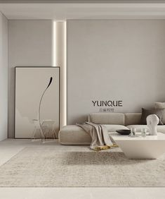 Flat Interior, Decor Interior Design, Residential Interior Design, Home Room Design, Living Room Designs, Boutique Interior, Modern Minimalist Living Room, Minimalist Interior, Home Living Room