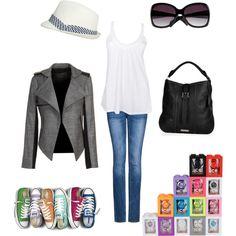 Rainbow fashion - Converse Chic