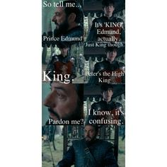 haha love this part in the movie... Edmund is my second-favorite (next to Eustace)!!!