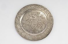 Object from the exhibition We call them Vikings produced by The Swedish History Museum Brooch;silver; Ringerike style  Espinge, Hurva, Skånde, Sweden