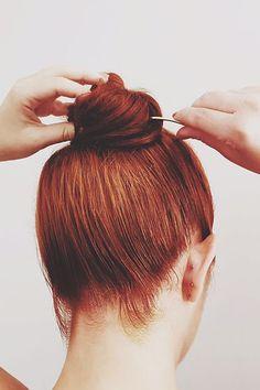 One week's worth of heat-free hair DIYs