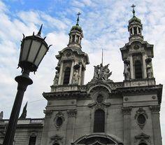 Cúpulas y Arquitectura de Buenos Aires -alsina y defensa