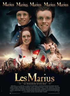 Can't. Stop. Laughing. strange thing is i know someone who looks like the Marius Fantine!