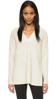 Vince Traveling Rib Sweater