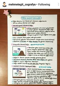 Study Tips, Geography, Student, Science, Journal, How To Plan, Education, Instagram, Math