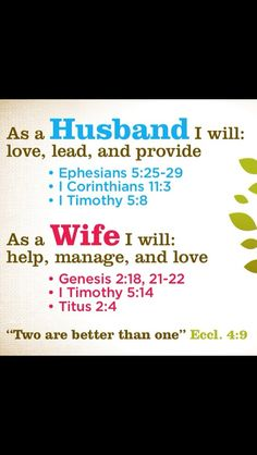 Love this! A great way to be supportive of your spouse