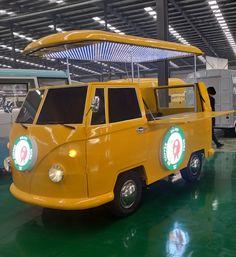 VW Replica Kombi Food Truck for Sale in Downey, CA Food Truck For Sale, Trucks For Sale, Volkswagen Bus, Vw T1, Kombi Trailer, Trailers, Kombi Food Truck, Cereal Cafe, Foodtrucks Ideas