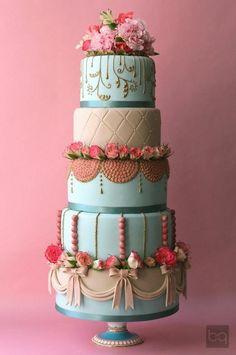 Renkli Düğün pastası / Colourful Wedding Cake...