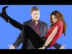 Castle Richard Castle, Nathan Fillion - TV Season 4 Gag Reel Bloopers Video