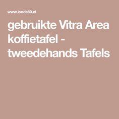 gebruikte Vitra Area koffietafel - tweedehands Tafels