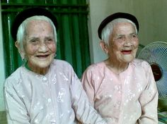 100 year old twins