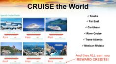 How about we cruise the world for pennies on the dollar? www.travelwithkeith.com