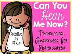 Phonological Awareness Interventions! Can You Hear Me Now? This is meant to be a quick and easy review for whole or small group. This set includes beginning, middle, and ending sounds; blending; syllables; deleting initial and final sounds; sentence word count; rhyming; and stretching words. $