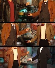 Handing over the TARDIS key 9, 10, 11, 12, soon 12 will hand it over to 13