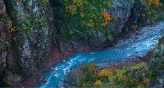 Les Gorges du Daluis #Mercantour