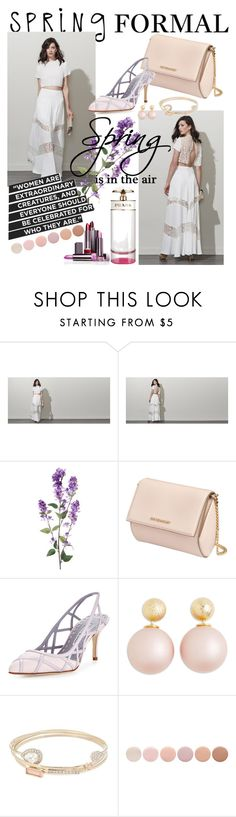 """Untitled #165"" by imajaa ❤ liked on Polyvore featuring Fame & Partners, Givenchy, Manolo Blahnik, Lipsy, Deborah Lippmann and springformal"