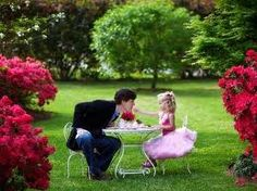 Every father should have a tea party with their daughter. :)