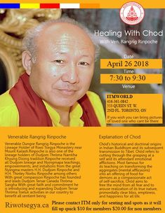 Healing Chod Event With Venerable Dungse Rangrig Rinpoche Presented by Riwotsegya ITM Bring It On, Presents, Healing, Pictures, Gifts, Photos, Photo Illustration, Therapy, Drawings