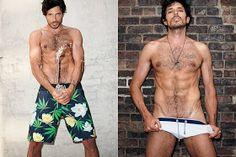 Über Fashion Marketing: Über-Preview: Andrés Velencoso sensualizando na nova campanha da Sergio K