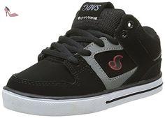 DVS Everett Mid, Skateboard Garçons, Noir (003), 33 EU - Chaussures dvs apparel (*Partner-Link)