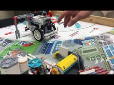 FLL Hydro Dynamics Attachments: Fountain Mission - YouTube
