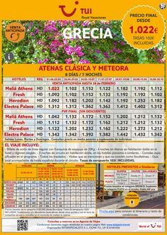 ¡Venta anticipada! GRECIA: Circuito Atenas clásica y Meteora. Precio final desde 1.022€ ultimo minuto - http://zocotours.com/venta-anticipada-grecia-circuito-atenas-clasica-y-meteora-precio-final-desde-1-022e-ultimo-minuto-2/