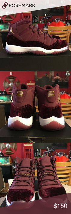 """AIR JORDAN 11 """"HEIRESS"""" 100% AUTHENTHIC AIR JORDAN 11 """"HEIRESS"""" WOMENS SIZE 7.5 NEW WITH BOX. PAYMENT IS THROUGH CASH APP ONLY (TO AVOID POSHMARK DEDUCTION FEES) SHIPPING IS THROUGH USPS PRIORITY MAIL 2-DAY SHIPPING. PLEASE COMMENT AND SHARE! HAPPY POSHING Jordan Shoes Sneakers"""